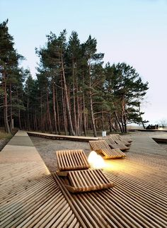 Sea Park in Latvia Creates a New Center of Attraction