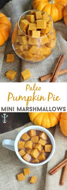A healthy take on a favorite fall flavor. Put these paleo pumpkin pie mini…