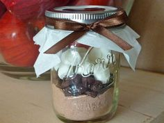 Hot Chocolate Favors - a few different ideas