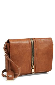 POVERTY FLATS by rian 'Super Zip' Messenger Bag available at #Nordstrom