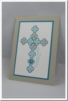 Monday, 11 February 2013Stampin' Up! Sale A Bration– Madison Avenue for an Easter Cross?