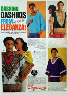 As stated, designers started looking toward African countries for inspiration. The Dashiki is one of the most popular African garments that people appropriate. The Dashiki is popular today and you can find a Dashiki for ten dollars online, which is hurting domestic African countries that make their money from these fabrics and garments.