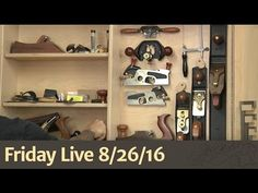 Friday Live (9/9/16) - Woodworking Forums, Scrap Wood, Back to Basics with…