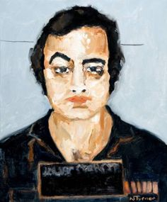 John Belushi Oil on canvas 18 by 15 inches © Neal Turner 2016 http://stores.ebay.com/GALLERY-ANT