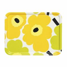 Create a unique dining experience for every occasion with Marimekko ceramic dinnerware or colorful glassware. Set a table that inspires your meal. Marimekko, Color Me Mine, Modern Dinnerware, Small Tray, New Print, Bold Prints, Good Company, Kitchenware, A Table