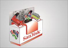 SanDisk End Cap