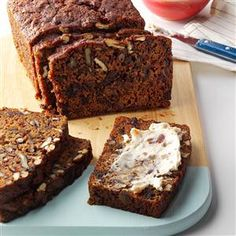 Date Pecan Tea Bread Recipe try almond and coconut flour instead of white flour,NO cloves
