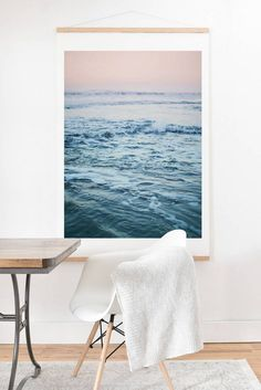 OVERSIZED ART PRINT MADE FROM 100% COTTON FIBER PAPER WITH NATURAL WHITE BASE. ACID, LIGNIN AND CHLORINE FREE ARCHIVAL PAPER USING EPSON K3 ARCHIVAL INKS. SMOOTH MATTE FINISH. SOLID OAK HANGER. CUSTOM MADE IN THE USA