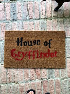 Harry Potter Diy, Doormats, Organic, Decorating, Type, House Styles, Search, Gallery, Funny