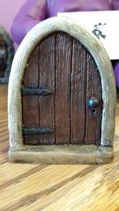 """3"""" Tall x 2"""" wide resin Fairy door"""
