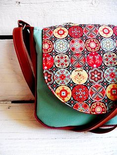 Mosaic by Gandreshop on Etsy Saddle Bags, Boho Chic, Mosaic, Trending Outfits, Unique Jewelry, Handmade Gifts, Etsy, Vintage, Life