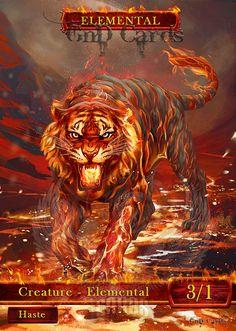 Beast 2 by Vasylina on DeviantArt Wild Animal Wallpaper, Tiger Wallpaper, Big Cats Art, Cat Art, Mythical Creatures Art, Magical Creatures, Medieval Painting, Fire Lion, Tiger Artwork