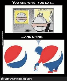 You are what you eat and drink