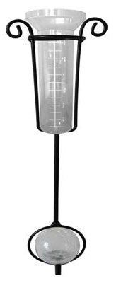 """Lumisol Electrical MT-1093C Four Seasons Courtyard Solar Rain Gauge with Clear Crackle Glass Ball by Lumisol Electrical. $11.87. Lumisol Electrical, Four Seasons Courtyard, Solar Rain Gauge, With Clear Crackle Glass Ball, Color Changing LED, Automatically Rotates Red, Blue, Green, Photo Cell, Automatically Turns On At Dusk, Overall Height 32.31"""", Includes 1 """"AA"""" 600 Mah Ni-Mh Rechargeable Battery, For Replacement Battery Use TV #123-427."""