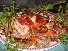 Porcetto - Cucina Sarda (roast pork) ¡que pinta!  luce delicioso