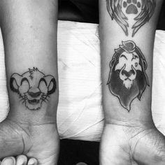 Faceless scar and simba from yesterday. - http://ift.tt/1HQJd81