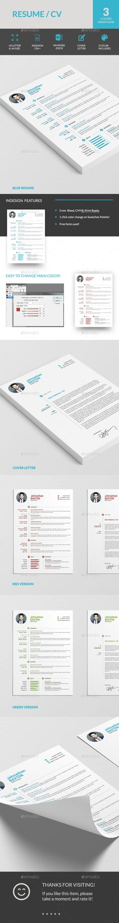 Resume CV by sabin_vp Resume CVThis minimal CV Resume set helps you to present yourself in the smartest way. Take it and create a strong impression abou