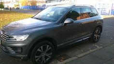 The Volkswagen Touareg #carleasing deal |  One of the many cars and vans available to lease from www.carlease.uk.com
