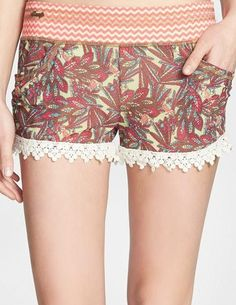 Maaji Shiver Me Timbers Mesh Cover-Up Shorts