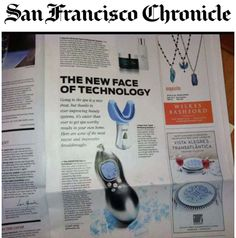 As seen in the San Francisco Chronicle  <3 The REDEFINE Macro Exfoliator:  This handheld tool, created by Bay Area dermatologists Katie Rodan and Kathy Fields, ups the ante. Intended to be used just once a week, it suctions away the millions of dead skin cells on the surface that dull the complexion, in a modified version of the technique used in doctors' offices. Techie types can also download a companion app that provides reminders, helpful tips and other information. <3