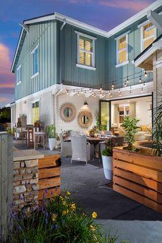 Beachwood Homes Patios, sideyards, paseos