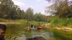 Fun..  fun..  fun..  at Oyo river