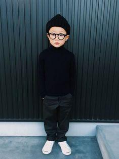 男の子の秋冬キッズコーデ画像10 Little Boy Outfits, Cute Outfits For Kids, Toddler Outfits, Toddler Boy Fashion, Little Boy Fashion, Fashionista Kids, Japanese Kids, Stylish Mens Fashion, Kids Wear