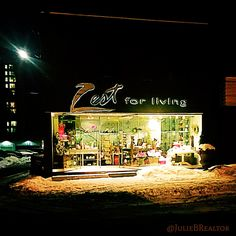 Port Credit, Mississauga has the nicest little shops just like this one...Zest For Living