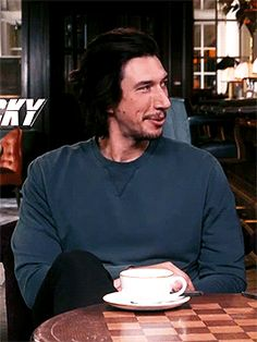 """""""Driver! Driver! Driver!"""" Star Wars Cast, Kylo Ren Adam Driver, Man Crush Monday, Reylo, So Little Time, Beautiful Men, Man Candy, Disappointed, Nerdy"""