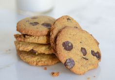 Crispy Chocolate Chip Cookies | Elana's Pantry - grain free, gluten free