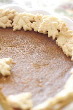 Epicurean Mom: Pumpkin Pie Recipe {Caramel}