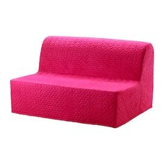 LYCKSELE HÅVET Vallarum cerise, Two-seat sofa-bed. This sofa quickly and easily turns into a bed for two. Easy to keep fresh since the mattress and sofa covers can be removed and washed. Switch between several covers to give the sofa and room a new look. Futon Mattress, Mattress Covers, Sofa Covers, Sofa Cama Ikea, Sofa Bed Frame, Foam Sofa Bed, Sofa Beds, Convertible 2 Places