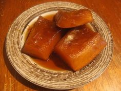 Receta de dulce de calabaza