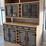 Wood Creations, Buffet, Kitchen Cabinets, Storage, Furniture, Creative, Home Decor, Purse Storage, Decoration Home
