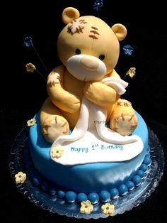 décoration de gâteau / nounours