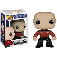 POP TV Star Trek TNG Jean-Luc Picard, Multi, Assorted