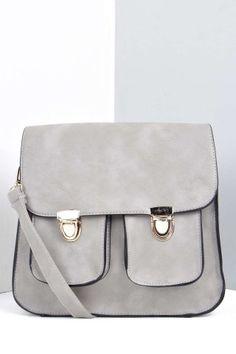 Fran Pocket Front Satchel Bag