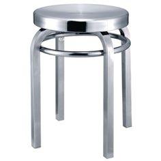 Navy Stool Chair