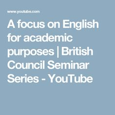 academic writing course british council