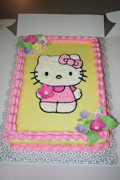 Hello Kitty Cake by Jens Creations Hello Kitty Torte, Hello Kitty Birthday Cake, 3rd Birthday, Birthday Parties, Birthday Cakes, Birthday Ideas, Happy Birthday, Bolo Kitty, Bolo Da Hello Kitty