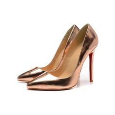 Metal Blade High Heels Real Leather Pointed-Toe, Factory Price, Worldwide Free Shipping!
