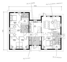 Det här är ett flexibelt hus med tre huskroppar, perfekt för det större hushållet. Huset präglas av de ljusa sällskapsytorna och den öppna planlösningen och har gott om förvaringsmöjligheter. Den rejäla hallen är både snygg och funktionell och tillsammans med de väl tilltagna badrummen utgör den ofta de mest uppskattade egenskaperna i huset. Master bedroom med egen toa/dusch och eget sällskapsutrymme passar fint när man är många i hushållet.