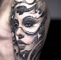 Estilos de tatuajes: negro y gris - Por Victor Portugal