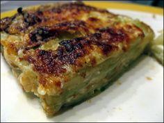 gratin raviole courgette assiette
