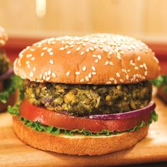 Weeknight Vegan Falafel Burgers Recipe (a healthy, vegan, meatless and dairy-free meal)