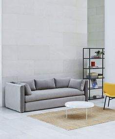 Order your Tulou Coffee Table. An original design by GamFratesi, this coffee table is manufactured by HAY. Table Furniture, Furniture Design, Sofa Design, Interior Design, Sofa Inspiration, Green Sofa, Minimalist Furniture, Soft Seating, Best Sofa