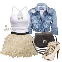 There is 0 tip to buy skirt, tulle skirt, poofy skirt, tank top, shoes. Help by posting a tip if you know where to get one of these clothes. I Love Fashion, Winter Fashion, Womens Fashion, Modern Fashion, Ladies Fashion, Fashion Ideas, Fashion Outfits, Cute Summer Outfits, Cool Outfits