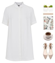 """""""with our young and innocent minds"""" by intanology ❤ liked on Polyvore featuring French Connection, Fat Face and Shop Succulents"""