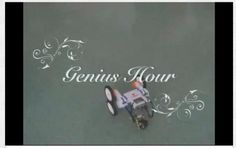Great video with students explaining Genius Hour.
