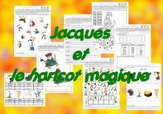 Jacques et le haricot magique : Exploitation du conte avec différentes activités